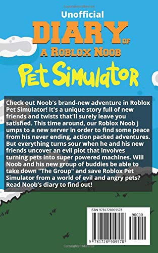 Diary of a Roblox Noob: Pet Simulator: Robloxia Kid: 9781728909578