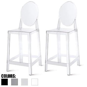 Amazon.com: Juego de 2 sillones modernos con brazo de ...