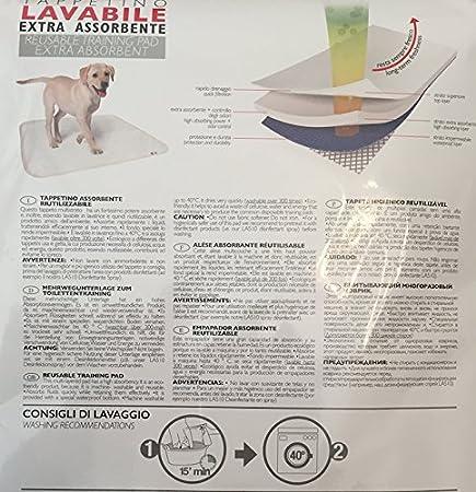 Alfombrilla lavable extra absorbente para perros, medidas 70 x 60 cm.: Amazon.es: Bricolaje y herramientas
