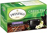 Twinings Green Tea, Green with Jasmine, 20 Count Bagged Tea (6 Pack)