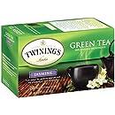 Twinings Green Tea, Green with Jasmine, 20 Count Bagged Tea (6 Pack)
