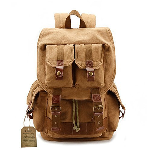 i-graphy Canvas Camera Backpack
