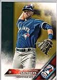 2016 Topps Baseball Series 2 #630 Michael Saunders Blue Jays