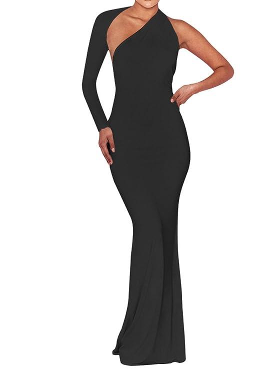 The 8 best long one shoulder dresses under 100