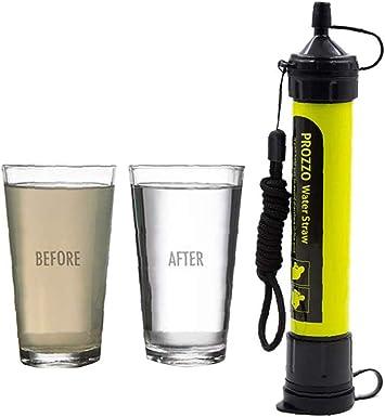 Filtro de Agua Personal Sistema de Filtración de Agua Mini ...