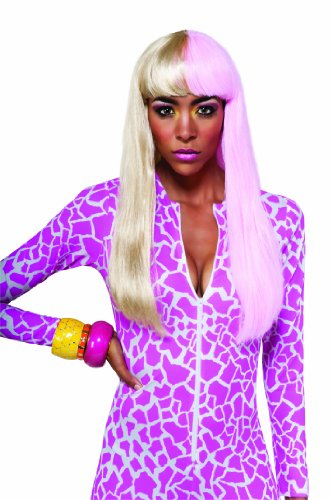 Rubie's Costume Nicki Minaj Super Bass Costume Wig  Multi  One -