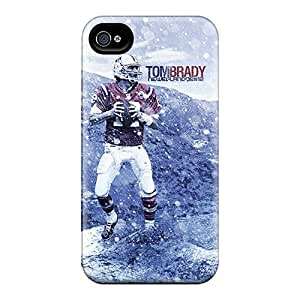 Tpu Case For Iphone 4/4s With New England Patriots