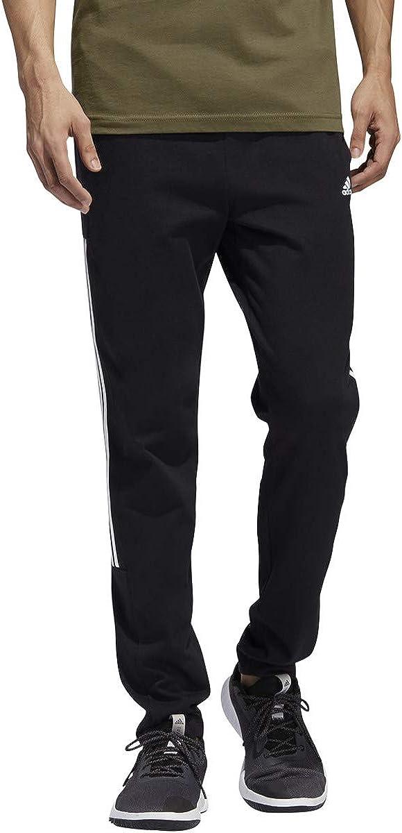 adidas mens Essentials 3-Stripes Regular Tricot Pants: Clothing