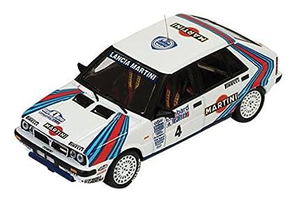 イクソ 1/43 ランチア デルタ HF 4WD RAC 1987 #4 完成品