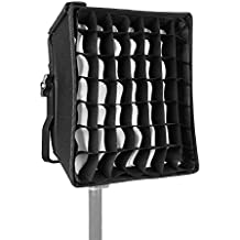Pergear Lightmate S Soft Box Diffuser Kit with Soft Box Diffuser Kit and Light Angle Reduction Diffuser for Brilliant Soft Lighting