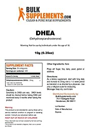 BulkSupplements Pure DHEA (Dehydroepiandrosterone) Powder (10 grams)