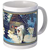 CafePress - Great Pyrenees Christmas Mug, Wintercottage - Unique Coffee Mug, Coffee Cup