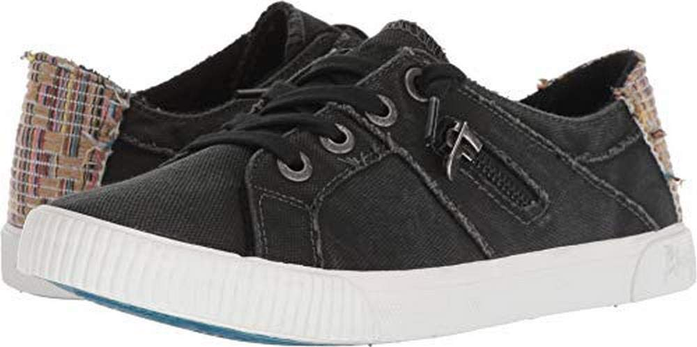Blowfish New Women's Fruit Sneaker Black Smoked Canvas (8.5)