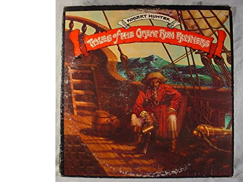 Robert Hunter Near Mint Promo Issue Stereo Lp - Tales Of The Great Rum Runners - Round Records - 1974