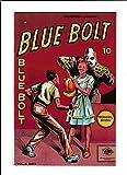 BLUE BOLT VOL.6 #6 [1946 VG-FN] CROSS-DRESSING COVER