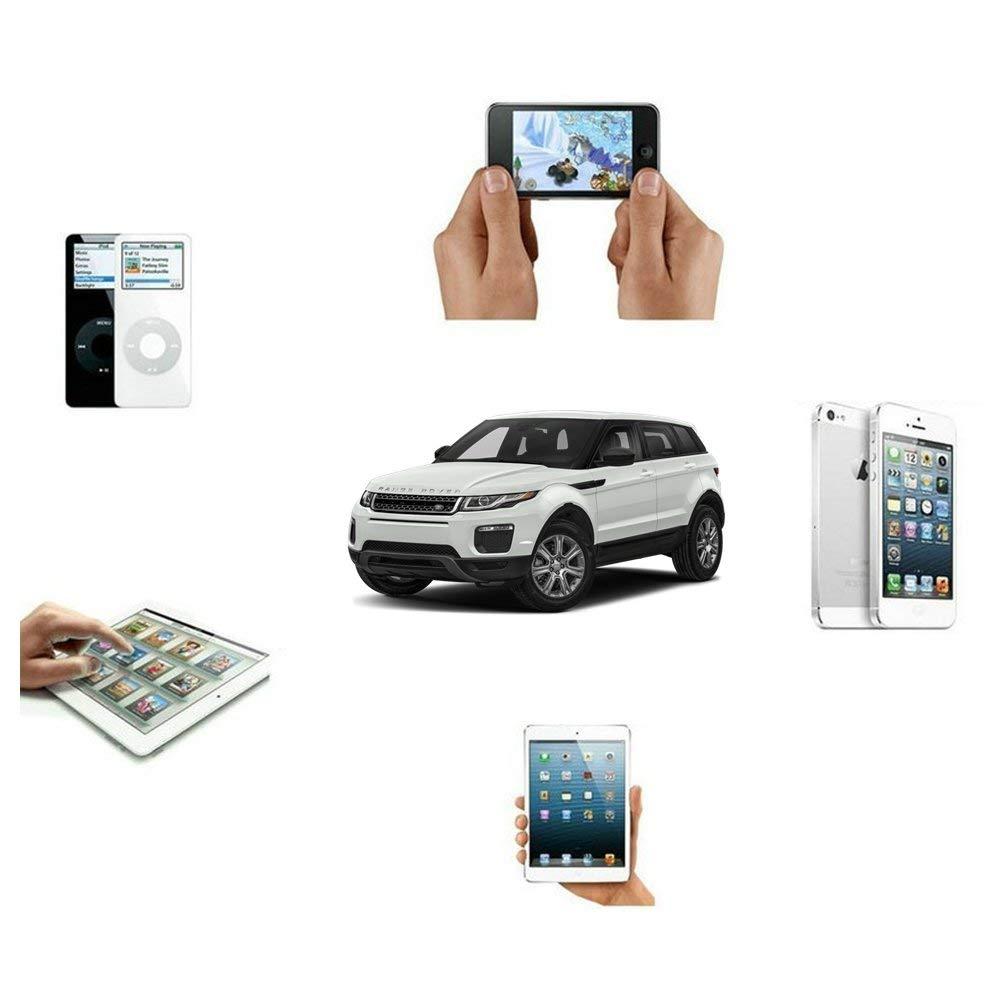 Adaptador inal/ámbrico Bluetooth para Coche Land Rover Interfaz de m/úsica para Range Rover Jaguar en Coche i-Pod Integration