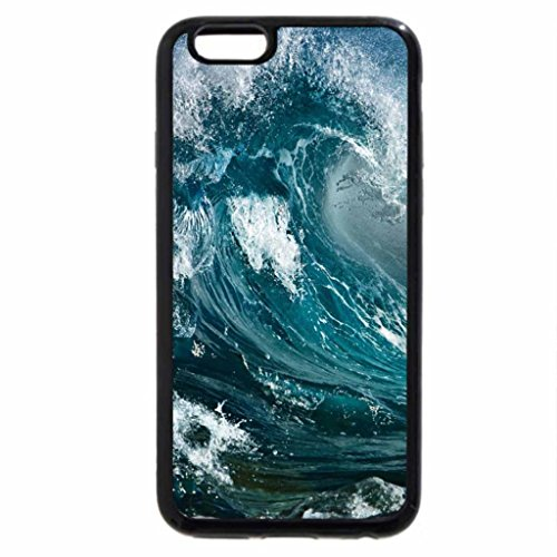 iPhone 6S / iPhone 6 Case (Black) Wind and waves