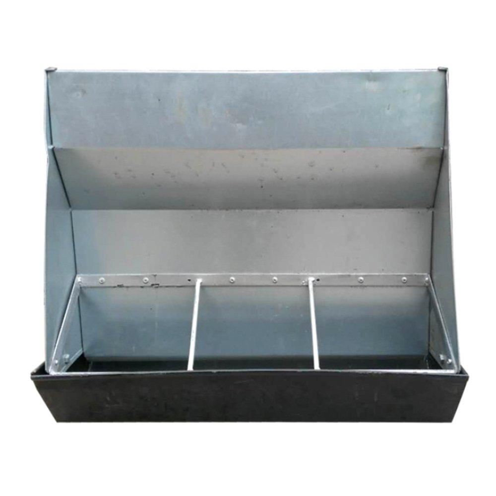 Piastra in acciaio a doppio lato foraggi slot slot slot feeder automatico maiale maialino 0de239