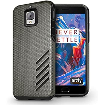 ... Case for OnePlus 3 (Original 2016 Model & OnePlus 3T Version) - Durable & Light-Weight Twin Layer Case for Added Grip & Protection - Graphite Grey