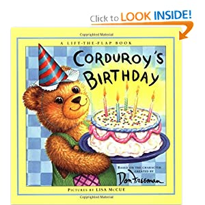 Corduroy's Birthday (Lift-the-flap Books) Don Freeman and Lisa McCue