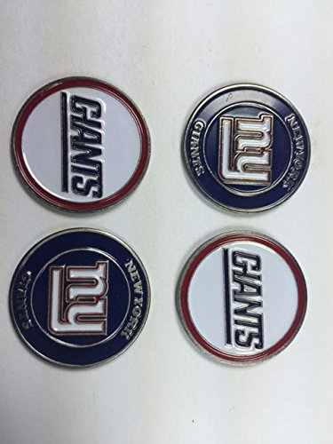 new-york-giants-nfl-golf-ball-markers-4-pack