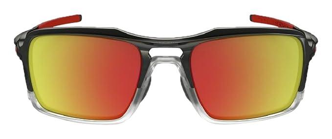 cyber monday oakley sunglasses mc5y  Oakley Mens Triggerman Sunglasses, Black Ink/Ruby, One Size