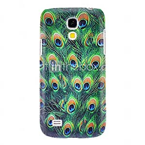 Peacock Feathers Pattern Hard Case for Samsung Galaxy S4 mini I9190