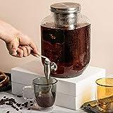 BTäT- Cold Brew Coffee Maker, 1 Gallon Mason