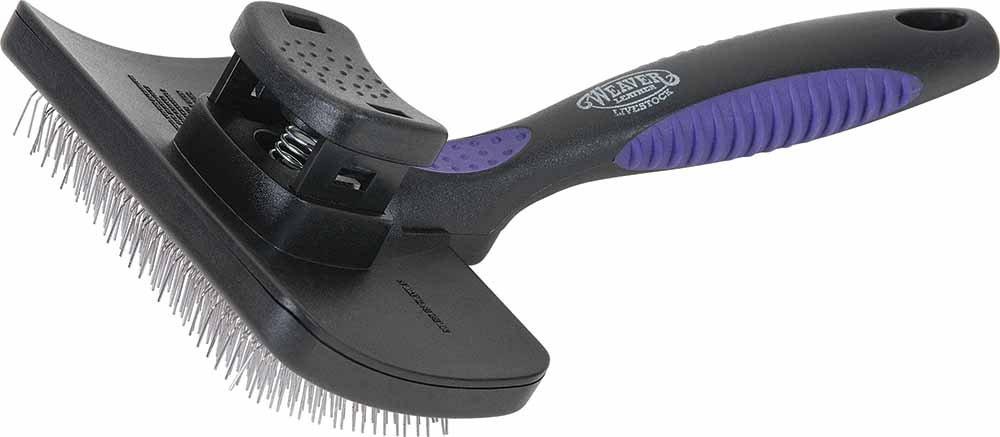 Weaver Leather Livestock Self Cleaning Slicker Brush