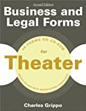 Business and Legal Forms for Theater, Second Edition, Charles Grippo, 1581159234