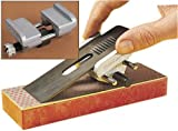 Plane Iron & Chisel Blade Sharpener Hone Guide Angle Block Honing Sharpening Jig