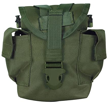 ab7ffe258 Military Tactical Heavy Weight Canvas Canteen Cover - Fits 1 Quart Canteens