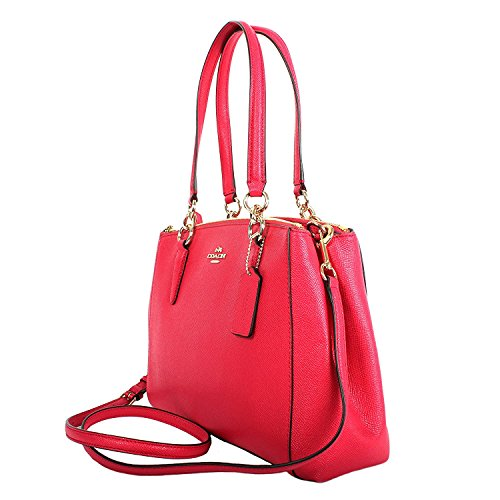 Leather Carryall Pink Small F57520 Crossgrain Coach Christie Bright 5zqwangxUI