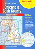 Chicago and Cook County Streetfinder 2001, Rand McNally and Company, 052898702X