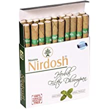 "Nirdosh Nicotine & Tobacco FREE Herbal Cigarettes - Made with Ayurvedic Herbs - 5 Packs of 20 Cigs each - ""Free Expedited Shipping via DHL Express"" - Delivery in 3-7 days - with Free Product Sample"