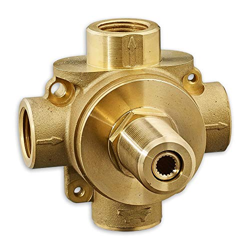 American Standard R433S 3-Way Diverter Rough In Valve with Shared Function, N/A