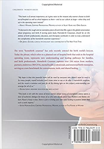 Homebirth Cesarean: Stories and Support for Families and ...