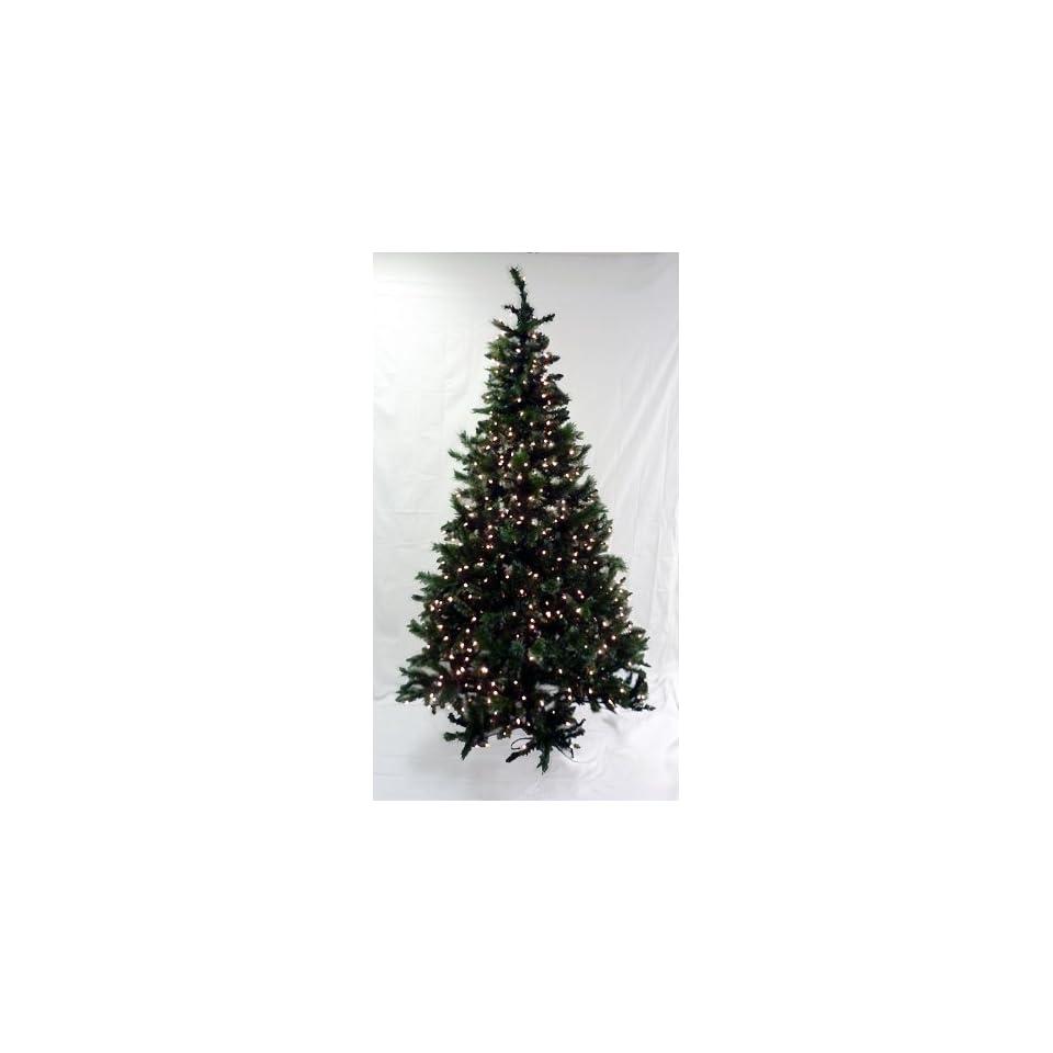 6.5 Pre Lit Slim Black Ashley Spruce Artificial Christmas Tree   Clear Lights