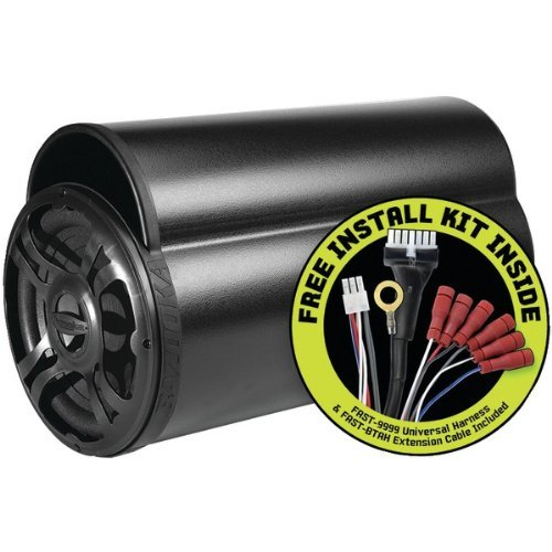 (BAZOOKA BTA10100FHC BT Series 100-Watt Amplified Tube Subwoofer with FAST (10