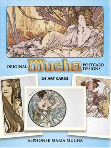 - Original Mucha Postcard Designs: 24 Art Cards (Card Books)