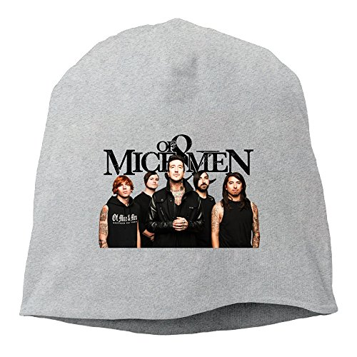 [Caromn OF MICE & MEN Beanies Skull Ski Cap Hat Ash] (Sims Costume Male)