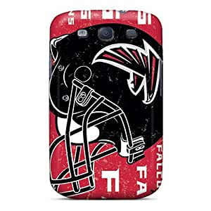 Protector Hard Phone Cover For Samsung Galaxy S3 With Support Your Personal Customized Realistic Atlanta Falcons Series JasonPelletier hjbrhga1544