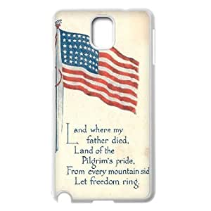 American Flag Customized Cover Case for Samsung Galaxy Note 3 N9000,custom phone case ygtg-774196