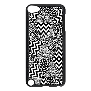 iPod 5 Case,Fashion Zebra Print Hard Snap-On Cover Case for iPod Touch 5, 5G (5th Generation)