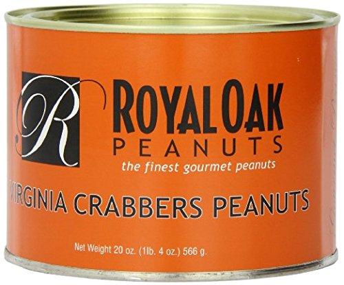 Royal Oak Gourmet Jumbo Virginia Crabbers Peanuts, 20 Ounce ()