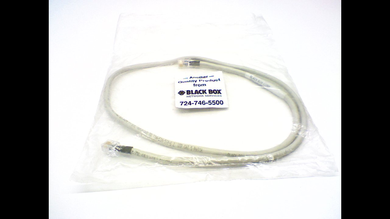 Black Box Eyp-Q 34 Ethernet Patch Cable 34 Length Eyp-Q 34In
