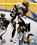 #10: Quentin Jammer San Diego Chargers Autographed 8