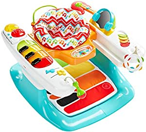 Amazon.com : Fisher-Price 4-in-1 Step 'n Play Piano : Baby