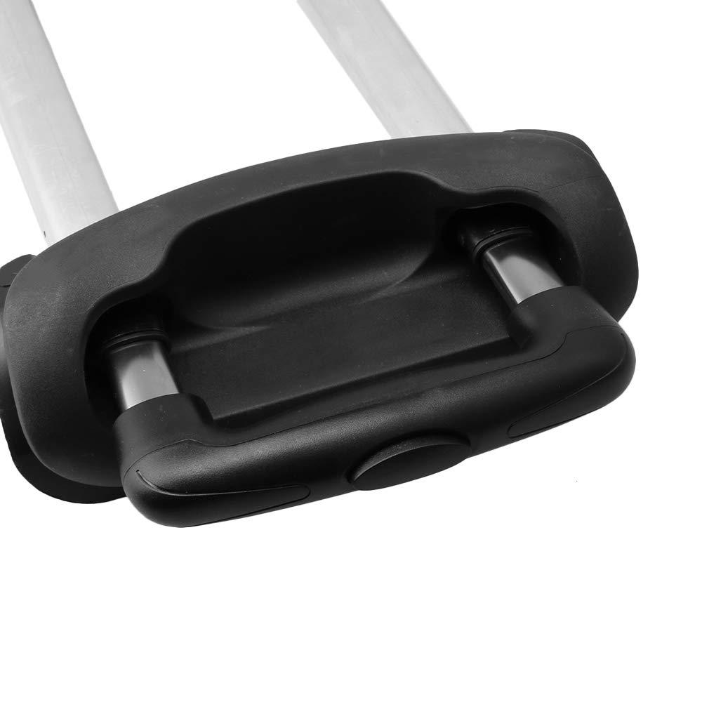 Yibuy Suitcase Telescopic Handle G115 Aluminium Alloy Rod for 20 inch Luggage