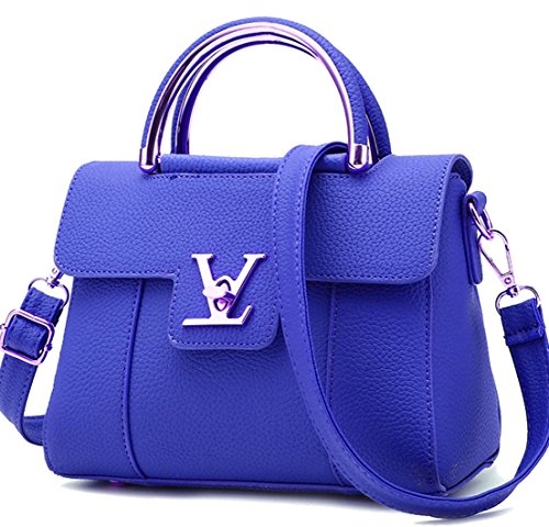 Seaoeey Women's Summer Shoulder Diagonal Small Bag Fashion Handbags Messenger Shoudler Bag Black Large Deep Blue